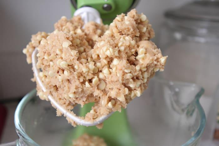Vanilla Macaroon Crunch Cookies-14