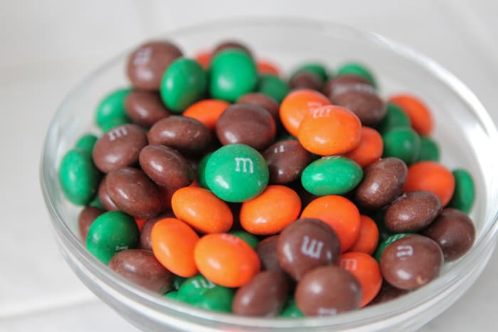 Chocolate Pumpkin Spice M and M Cookies-17