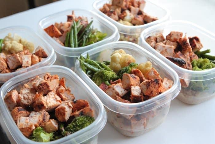 GrilledChickenVeggieBowls-Meal Prep-17