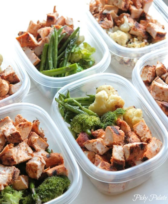 Grilled Chicken Veggie Bowls Meal Prep Picky Palate