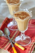 Simple Pumpkin Pie Smoothie