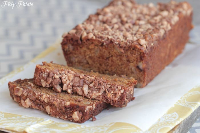 Banana Molasses Toffee Chip Bread 2-2t