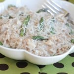 Creamy Romano Chicken Farro by Picky Palate