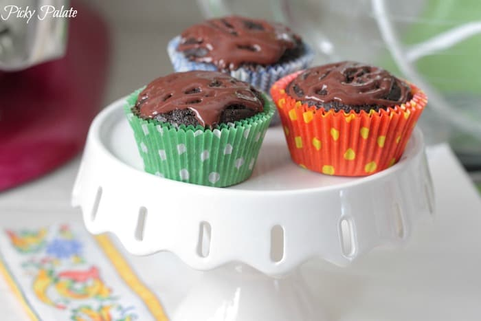 The Ultimate Chocolate Pumpkin Cupcakes