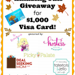 $1000 Visa Gift Card Fall Giveaway