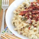 Bacon Pesto Mac and Cheese