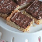 Image of Salted Nutella Shortbread Bars