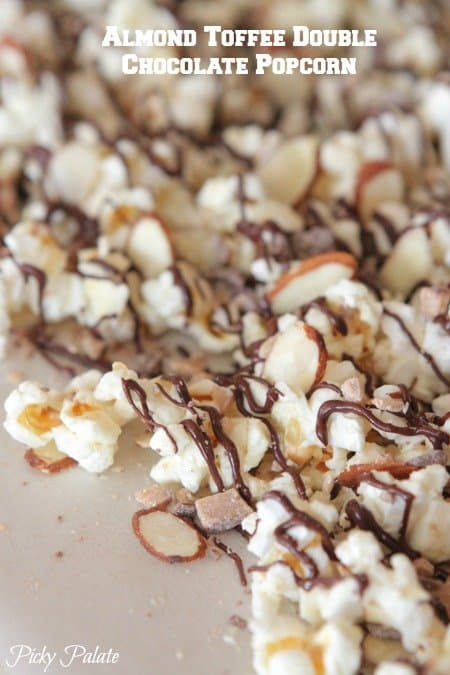 Almond Toffee Double Chocolate Popcorn-18t