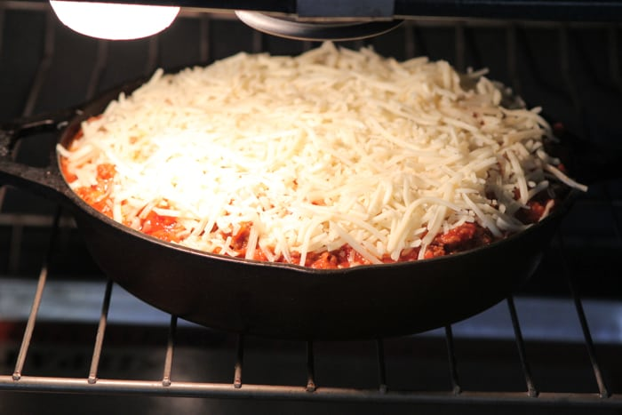 Cheesy Sausage Skillet Lasagna Recipe-28