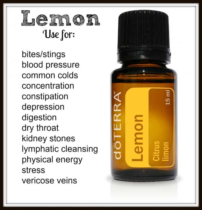 DoTERRA Lemon oil