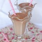 Hazelnut Chocolate S'mores Orange Milkshake 1