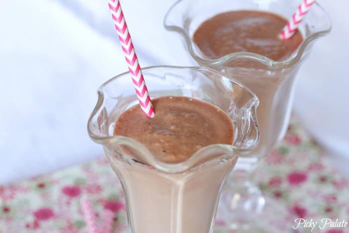 Hazelnut Chocolate S'mores Orange Milkshake 2