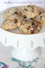 Healthier Whole Wheat Chocolate Chip Cookies-12t