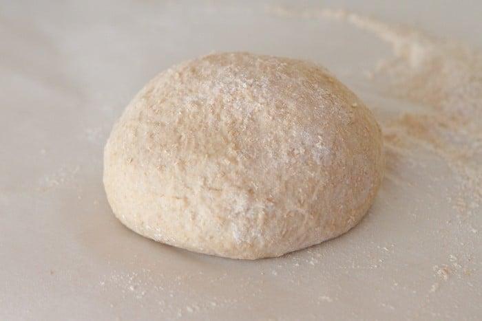 Honey Whole Wheat Pizza Dough Recipe-14