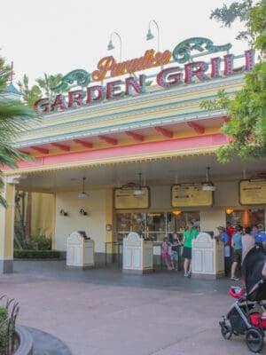 Paradise Garden Grill California Adventure