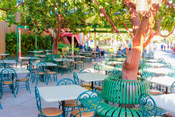 Paradise Garden Grill California Adventure