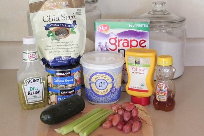 Skinny Greek Yogurt Chicken Salad-1