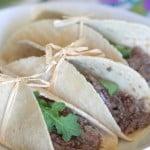 Slow Cooker Salsa Verde Ranch Beef Tacos