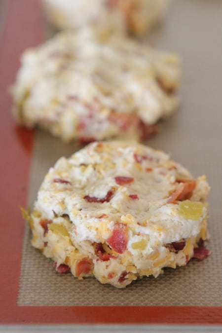 Cheesy Green Chile and Bacon Buttermilk Biscuits-17