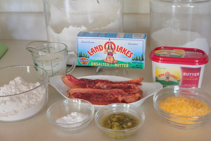 Cheesy Green Chile and Bacon Buttermilk Biscuits-4
