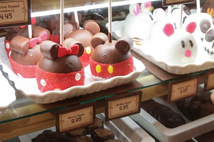 Disneyland Mickey Caramel Apple