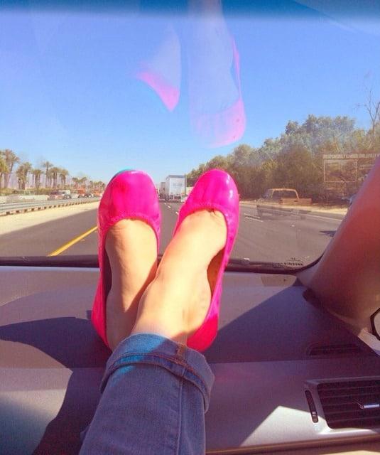 Pink Pop Tieks