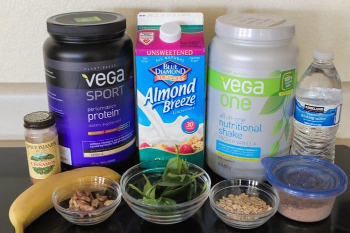 After Workout Shake with Vega Sport Protein Powder