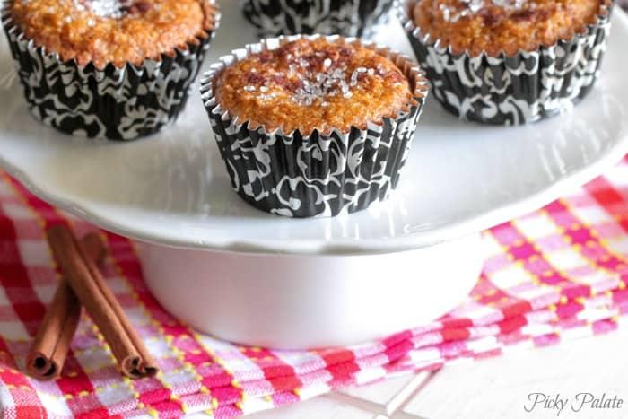 Cinnamon Carrot Cake Muffins