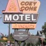 Cozy Cone Motel CA Adventure Dining