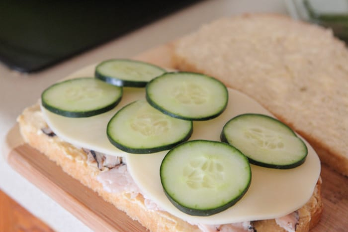 Loaded Turkey and Hummus Mediterranean Panini-5