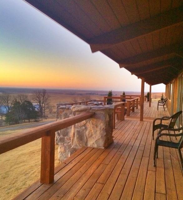 The Pioneer Woman Ranch Sunrise