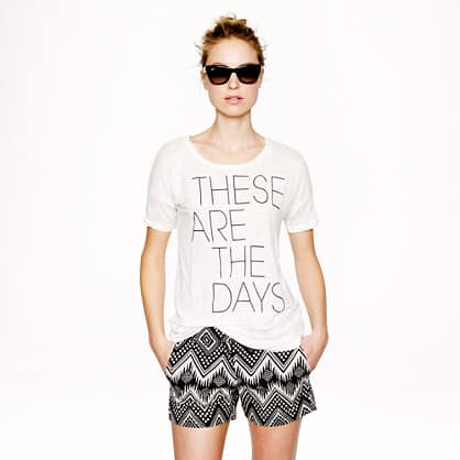 These are the days JCrew