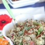 Chicken Pecan Mexican Rice Salad