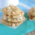 Image of White Chocolate Lemon Pudding Cookies