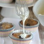 Brown Butter Blueberry Banana Bread Muffins