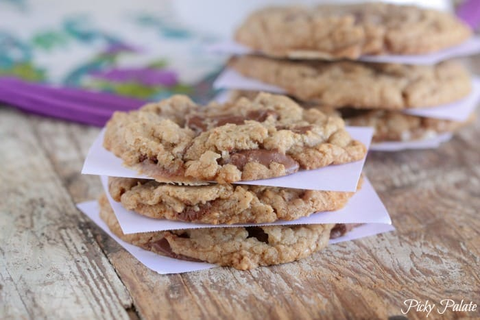 Brown Butter Chocolate Chunk S'mores Cookie Recipe