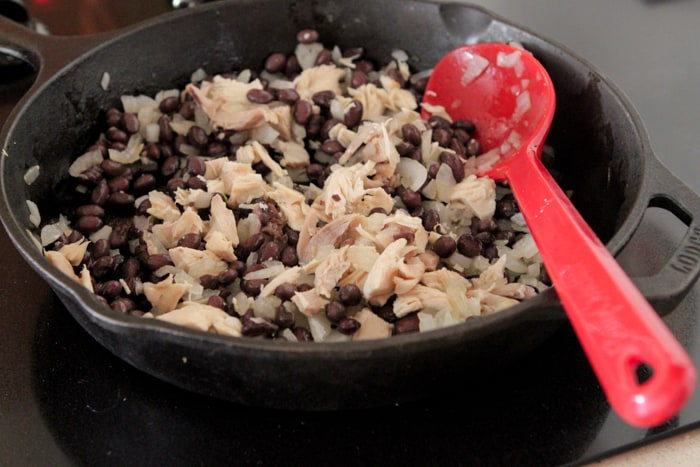 Chicken Black Bean Taco Bake-6
