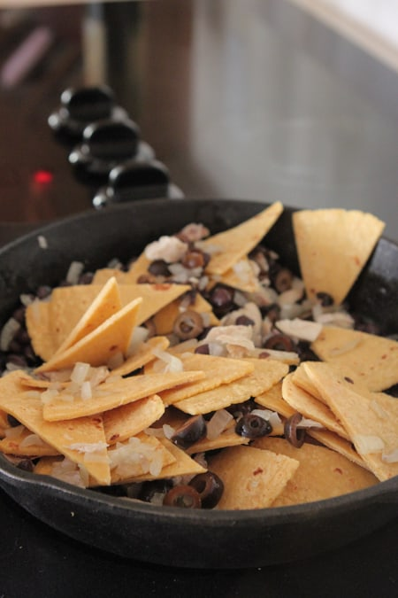 Chicken Black Bean Taco Bake-8