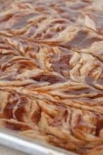 Image of Cinnamon Roll Banana Bread Sheet Cake