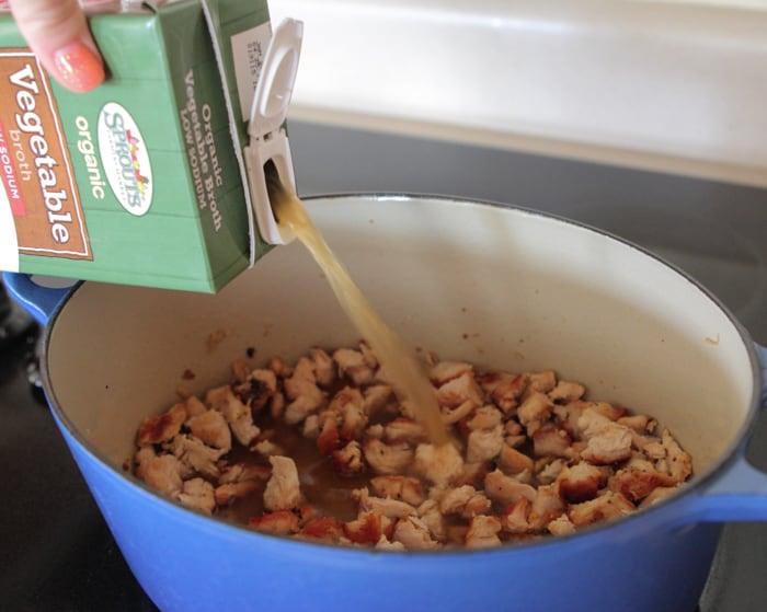 Salsa Verde Chicken and Wild Rice Soup-17