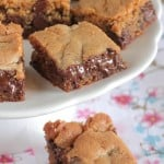 Vanilla Malted Chocolate Chip Cookie Bars