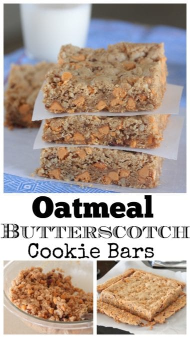 oatmeal butterscotch cookies