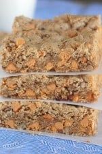 Image of Oatmeal Butterscotch Cookie Bars