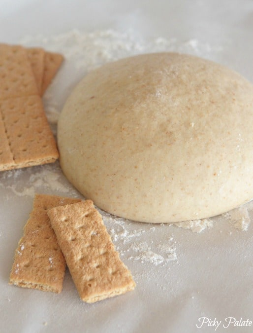 Graham Cracker S'mores Pizza Dough Recipe