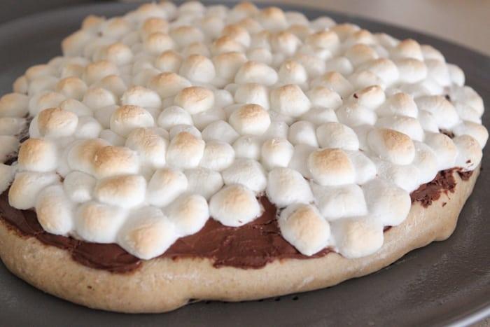 Nutella S'mores Dessert Pizza-24