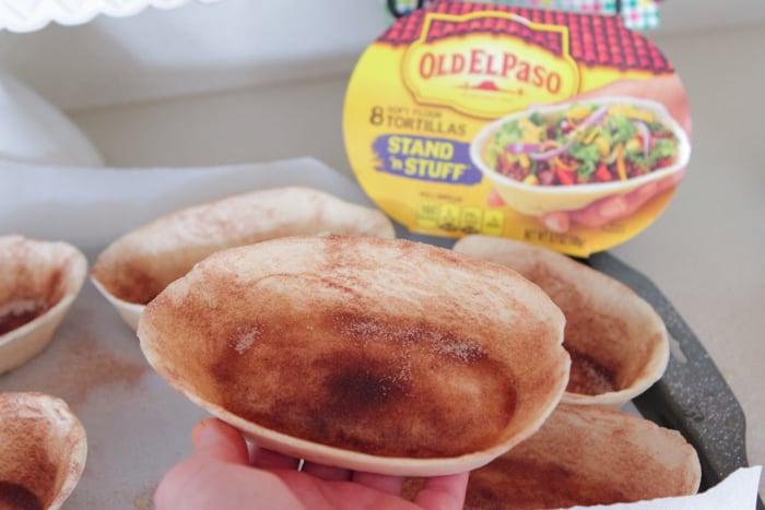 Churro Toasted Sweet Fruit Tacos-6