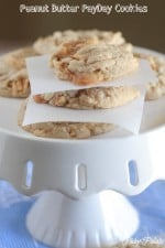 Peanut Butter Pay Day Cookies