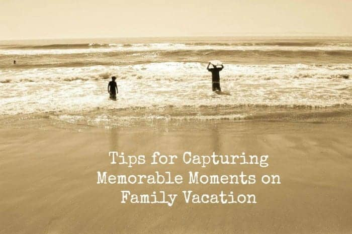 I am thrilled to share our tips for creating meaningful moments on family vacation today! There's nothing I love more than heading out of town with my crew of boys on a new adventure!