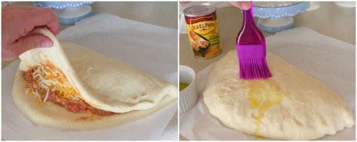 Bean and Cheese Burrito Calzone Recipe