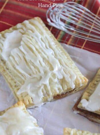 Iced Brown Sugar Pumpkin Hand Pies